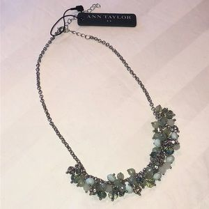 Ann Taylor Beaded Adjustable Necklace